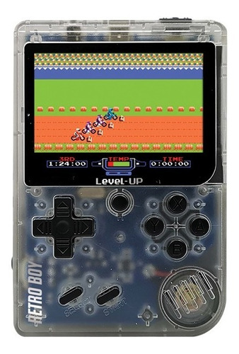 Consola Retro Boy Level Up Juego Portatil 168 Juegos A Bateria Recargable