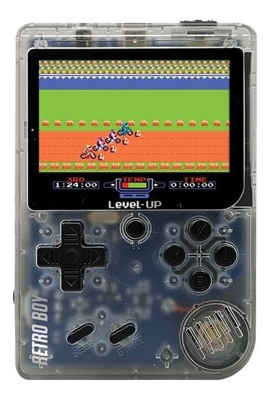 Consola Retro Boy Level Up Juego Portatil 168 Juegos A Bateria Recargable