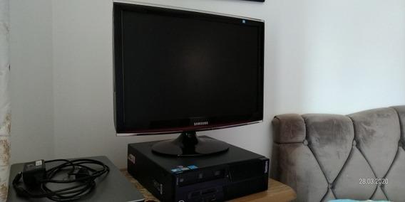 Computador Lenovo M90 Core I5 3.2ghz Hd 500 Com Monitor 22