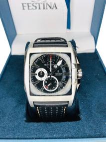 Relógio Masculino Festina F16363/5 Pulseira Couro Promoção