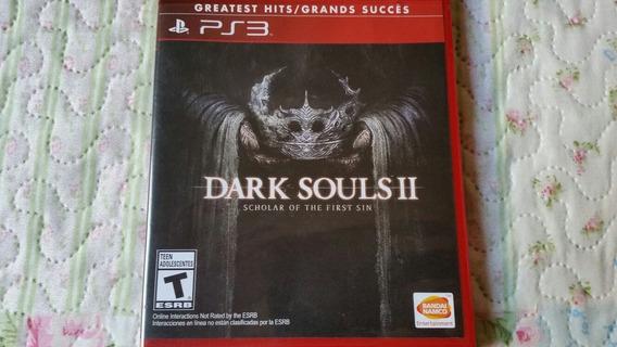 Dark Souls 2 Scholar Of The First Sin Para Ps3 Mídia Física
