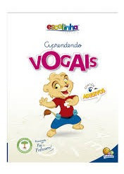 Escolinha Aprendendo Vogais - Contém Ade Editora Todolivro