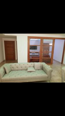 Hermoso Apartamento En Alquiler Amueblado En Cacicazgo Con Piscina .