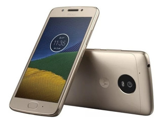Moto G5 16g - Gold Novo Com Garantia E Nota Fiscal-sem Caixa