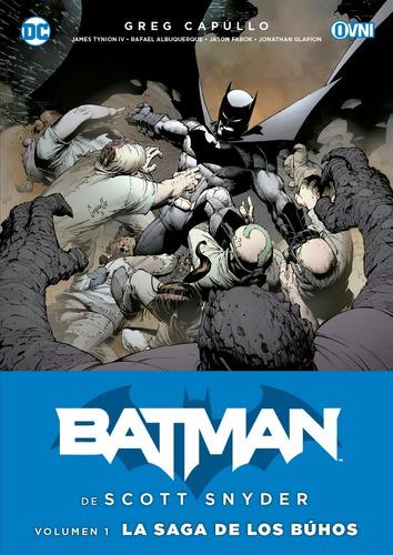 Imagen 1 de 1 de Cómic, Dc, Batman Scott Snyder Vol. 1: La Saga De Los Búhos