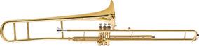 Trombone Eagle De Pisto Longo Em Sib Tv-602