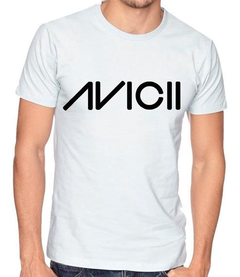 Playera Camiseta Hombre Niño Avicii Dj Electronica #148