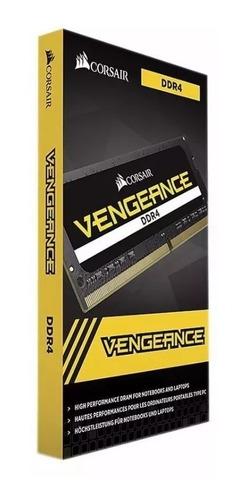 Memoria Notebook Ddr4 16gb 2666 Vengeance Corsair Lacrada