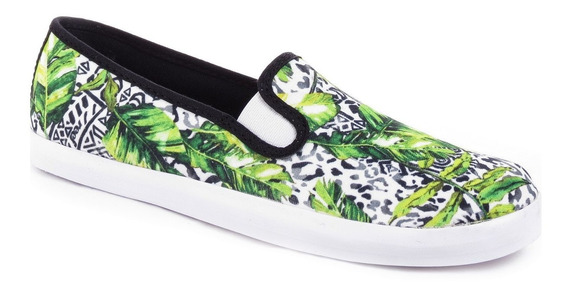 Zapatillas Panchas Reef Marcy Slip On Lona Mujer Importadas