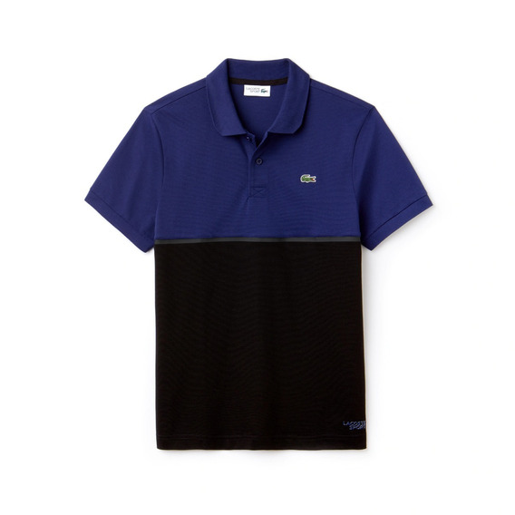 Polo Lacoste Sport Colorblock Ultra Light 2xl Blue/black