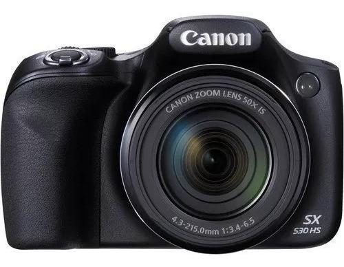 Maquina, Camera Fotográfica P/ Amador Semi Profissional Canon Sx530