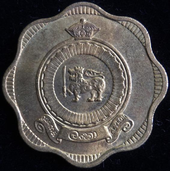 Ceylon Commonwealth Britanico, 10 Cents, 1963. Sin Circular