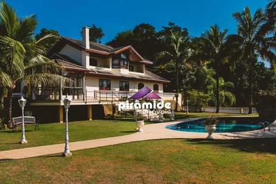 Casa Com 5 Dormitórios À Venda, 441 M² Por R$ 4.000.000 - Bosque Dos Eucaliptos - São José Dos Campos/sp - Ca4530