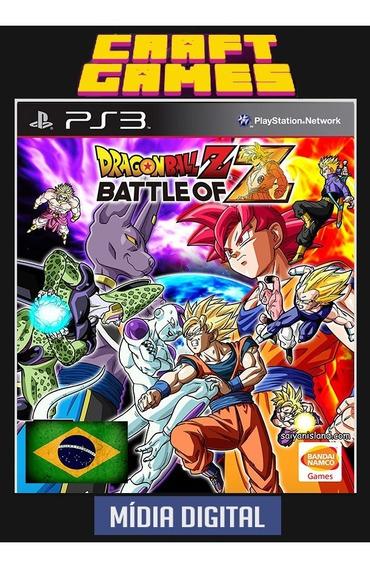 Dragon Ball Z Battle Of Z Ps3 Psn Pt-br Midia Digital