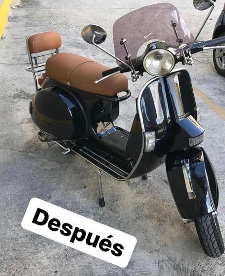 Vespa Nv 150 Totalmente Restaurada, Impecable!!!