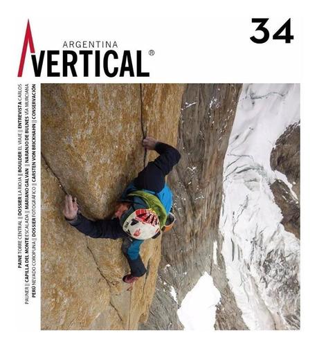 Revista Vertical Numero 34  Escalada Montañismo Alta Montaña
