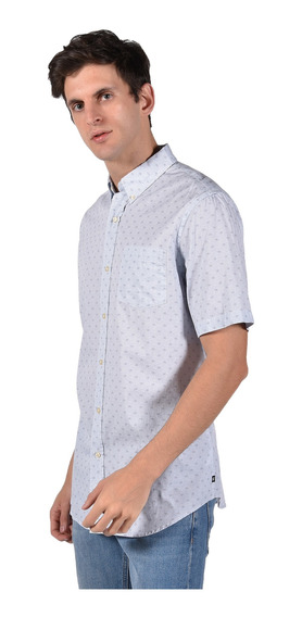 Camisa Classic Fit Chaps Azul 750703139-2z3m Hombre
