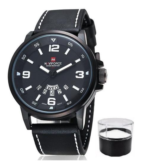 Relógio Naviforce 9028 Original Estojo Nota Fiscal Promoção