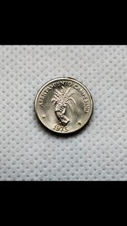 Moneda Coleccionable Asentamento Campesino 2 1/2 Medio Cente