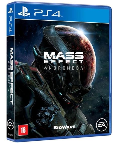 Mass Effect Andromeda Ps4 Mídia Física Original Português Br