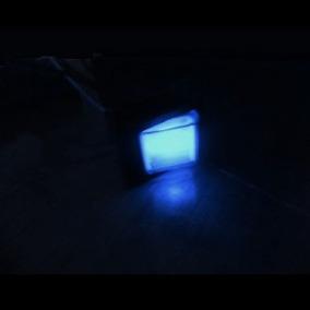 Chave Gangorra Botao Iluminada Interruptor 110/ 220v 1 Und