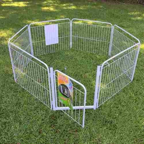 Cercado Pet Filhote Cão Casinha Cachorro 6/90cm +portão+brin