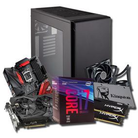 Pc Gamer I7 8 Wc 16gb Ram Ssd Hd Gtx 1070 Ti * À Vista 7.400