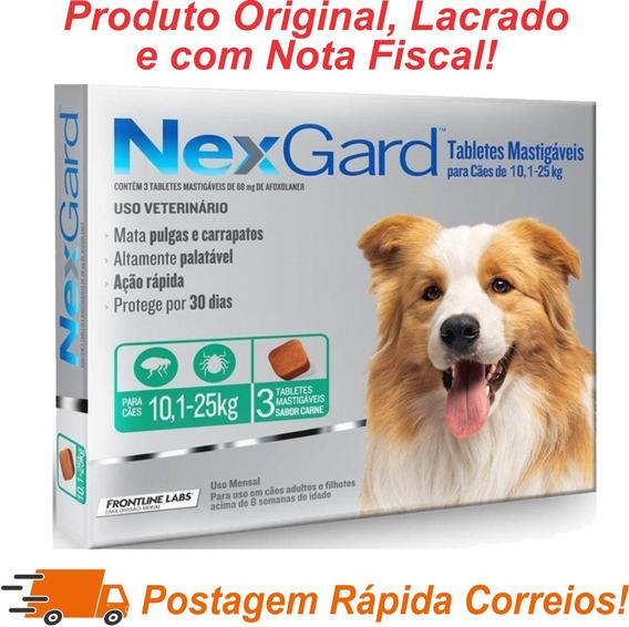 Nexgard Antipulgas E Carrapatos 10 A 25kg C/3