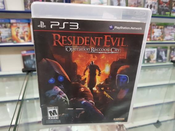 Resident Evil Racoon City Usado Original Ps3 Mídia Física