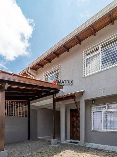 Imagem 1 de 25 de Sobrado Com 3 Dormitórios À Venda, 107 M² Por R$ 495.000,00 - Guaíra - Curitiba/pr - So2525