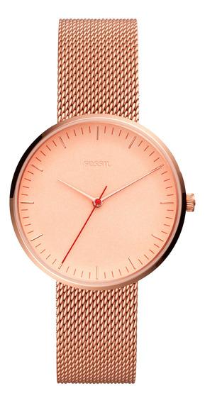 Reloj Fossil Mujer Oro Rosa Es4425
