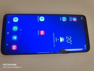 Samsung Galaxy S9 Plus 64 Gb Con Detalle En Pantalla