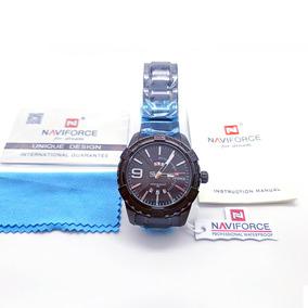 Relógio Masculino Preto Naviforce