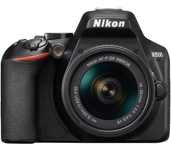 Câmera Nikon D3500 Com Lente 18-55mm
