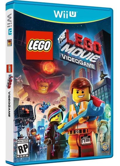 Game The Lego Movie Br - Media Fisica - Wii U