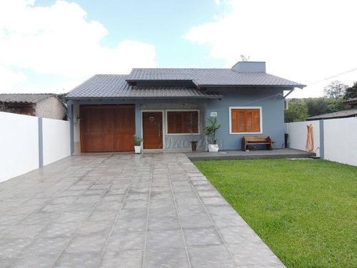 Imagem 1 de 30 de Casa  Residencial À Venda, Metzler, Campo Bom. - Ca1026