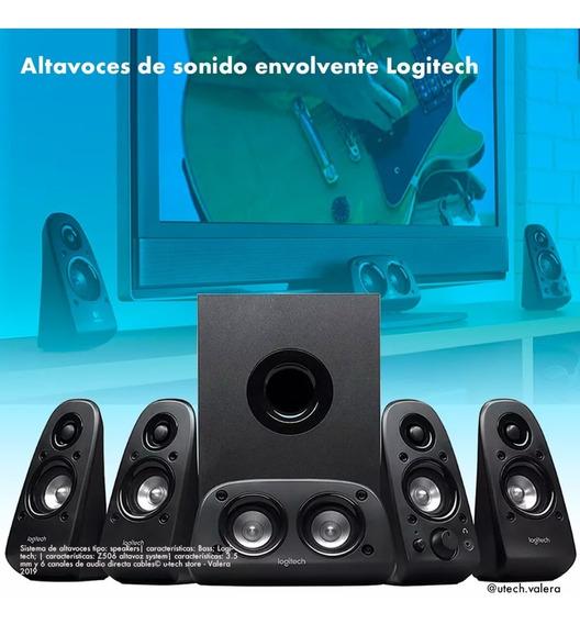 Sonido Envolvente Logitech Home Teather 5.1 (100v)