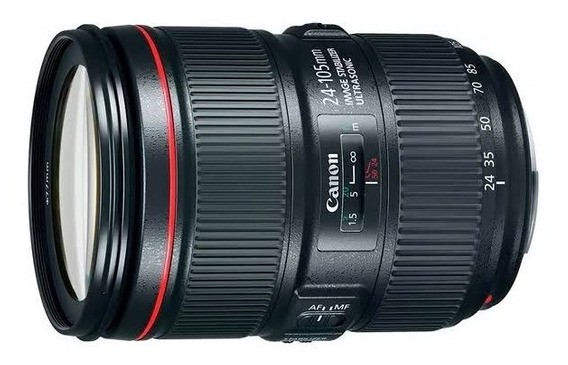 Lente Canon 24-105mm F/4l Usm