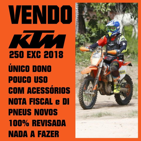 Ktm Exc 250 4 Tempos Equipada E Revisada. Único Dono.
