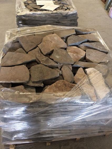 Piedra Laja Irregular Diametro 15-20 Cm Espesor 1-3.5 Cm
