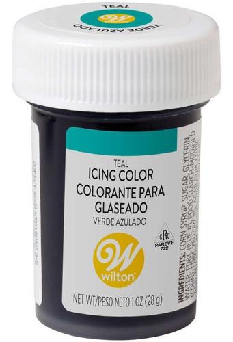 Gel Colorante Para Glaseado Turquesa / Verde Azulado Wilton