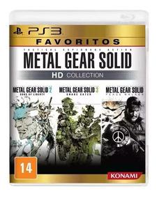 Metal Gear Solid Hd Collection Ps3 Mídia Física Lacrado