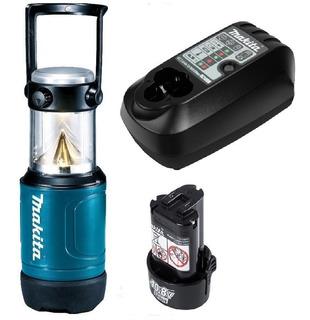 Lanterna 12v Ml102 Makita + Carregador Bivolt + Bateria
