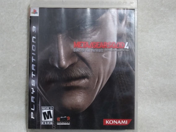 Metal Gear Solid 4 Ps3 Com Manual