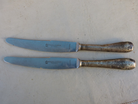 2 Cuchillos P.calidad Superior Solingen Inoxidable 25cm Larg