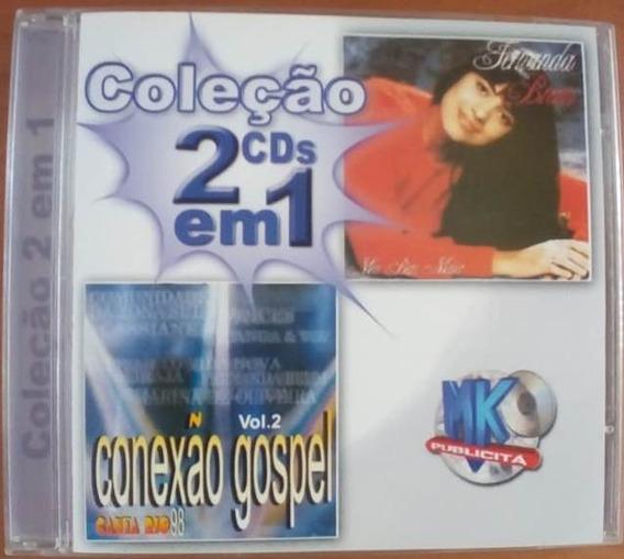 Cd Coleção 2 Em 1 Fernanda Brum E Conexão Gospel