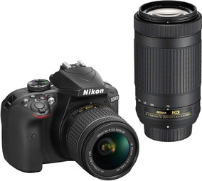 Camera Digital Nikon D3400 Dx - Pronta Entrega