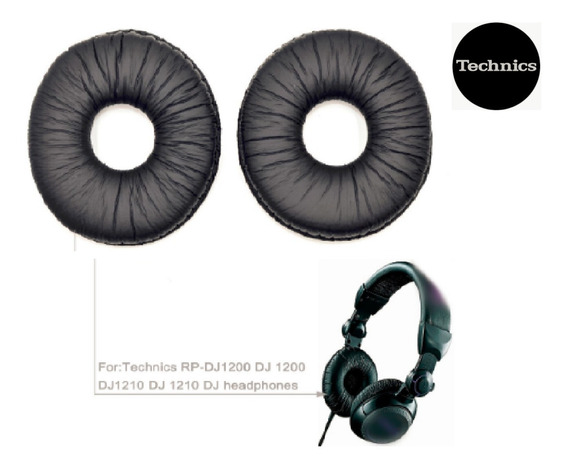 Par De Almofadas Espumas Technics Rp-dj1200