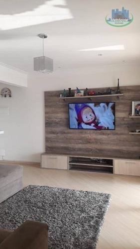 Apartamento Com 4 Dormitórios À Venda, 124 M² Por R$ 450.000 - Vila Progresso - Guarulhos/sp - Ap1090