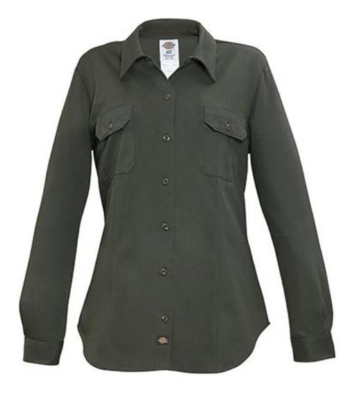 Camisa Dickies Mfl547 Verde